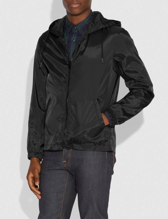 Coach Rexy and Carriage Coat With Hood Black Men Ready-to-Wear Coats & Jackets Alternate View 3