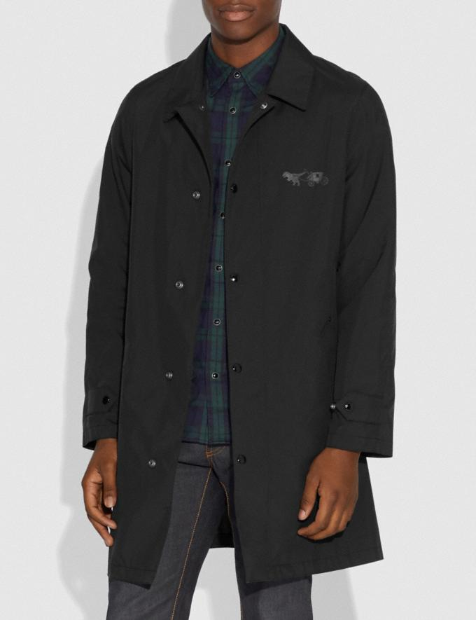 Coach Rexy and Carriage Coat With Hood Black Men Ready-to-Wear Coats & Jackets Alternate View 4