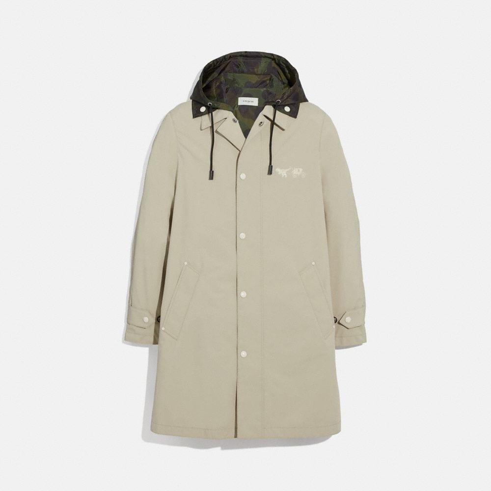 Coach Rexy and Carriage Coat With Hood