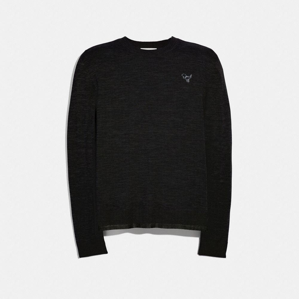 Coach Rexy Patch Crewneck Sweater