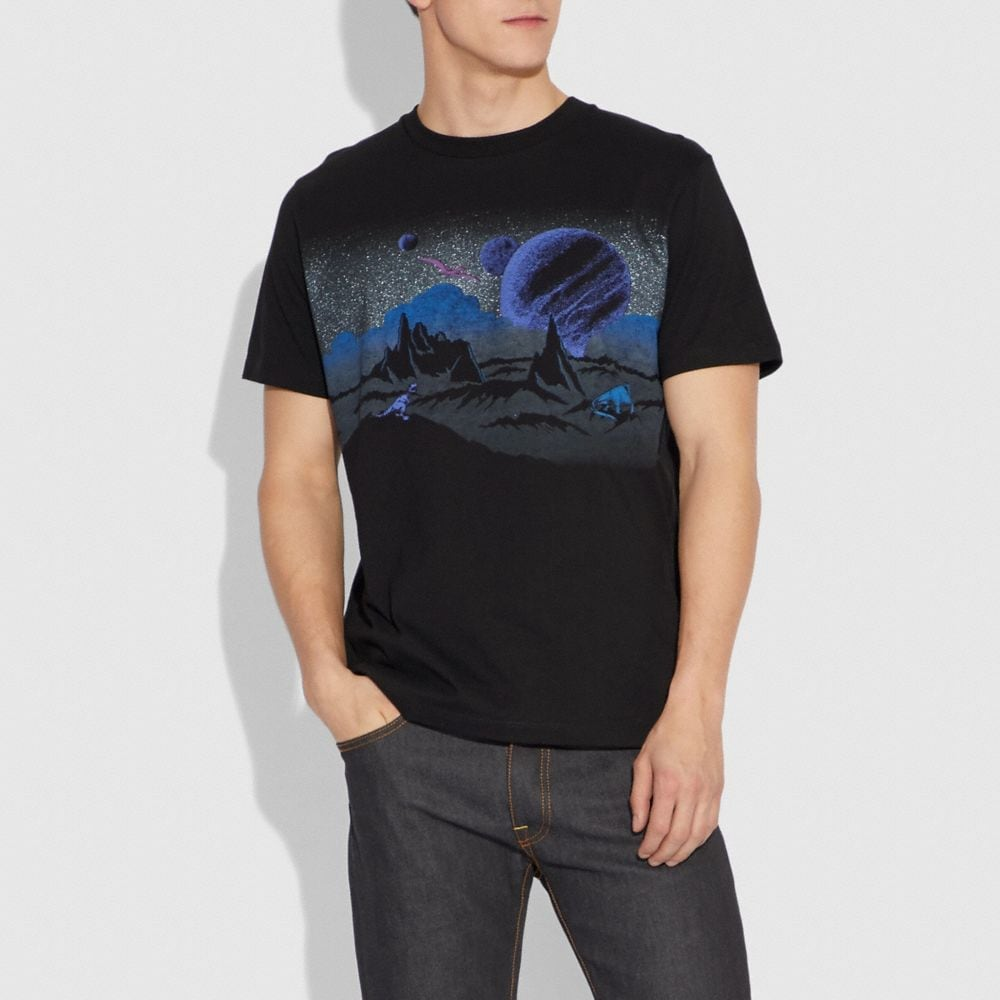 Coach Landscape T-Shirt Alternate View 1
