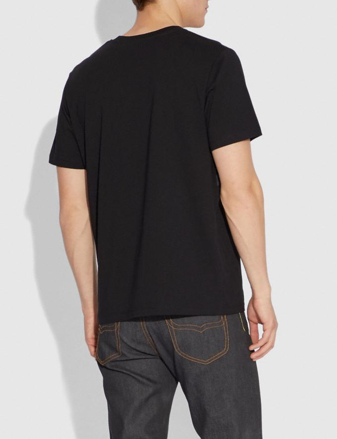 Coach Landscape T-Shirt Black Men Ready-to-Wear Tops & Bottoms Alternate View 2
