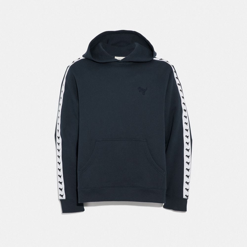 Coach Rexy Tape Hoodie