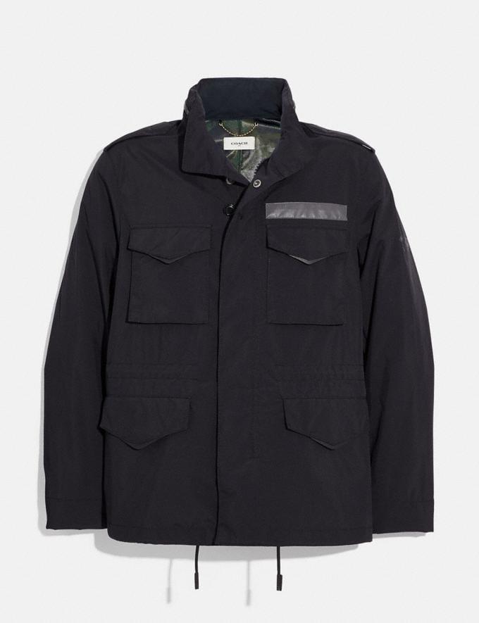 Coach M65 Jacket Black Men Ready-to-Wear Jackets & Outerwear