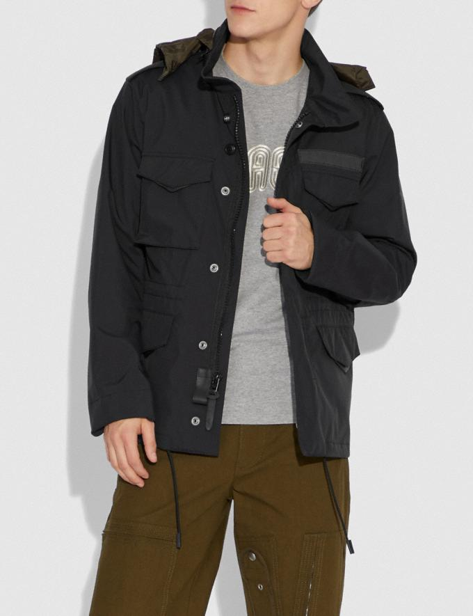 Coach M65 Jacket Black Men Ready-to-Wear Jackets & Outerwear Alternate View 1