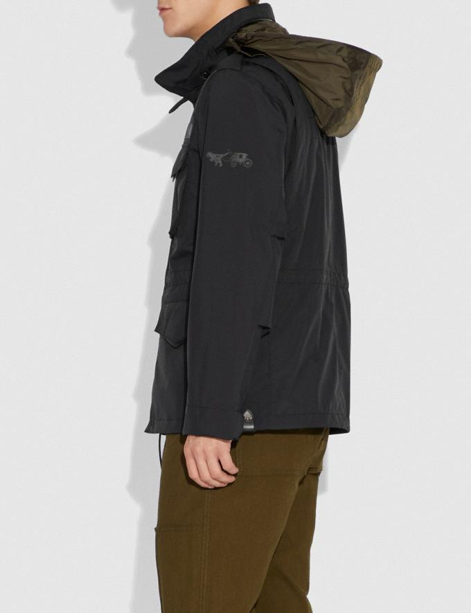 Coach M65 Jacket Black Men Ready-to-Wear Jackets & Outerwear Alternate View 3