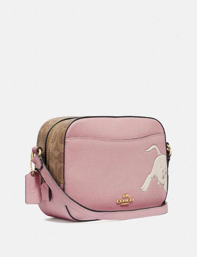 Coach Disney X Coach Camera Bag With Dalmatian Blossom/Gold New Featured Disney x Coach Alternate View 1