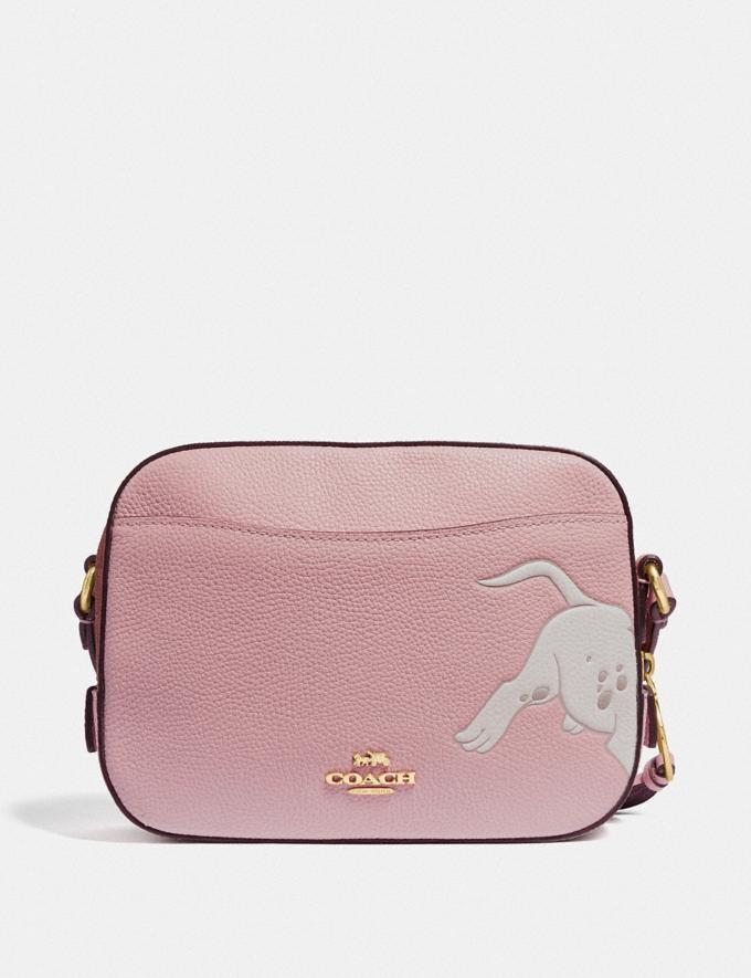 Coach Disney X Coach Camera Bag With Dalmatian Blossom/Gold New Featured Disney x Coach Alternate View 2