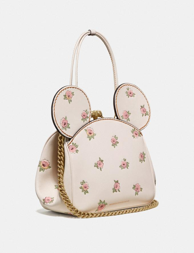 Coach Disney X Coach Minnie Mouse Kisslock Bag Brass/Chalk New Women's New Arrivals View All Alternate View 1