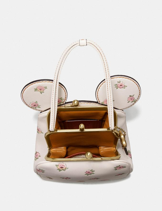 Coach Disney X Coach Minnie Mouse Kisslock Bag Brass/Chalk New Women's New Arrivals View All Alternate View 2