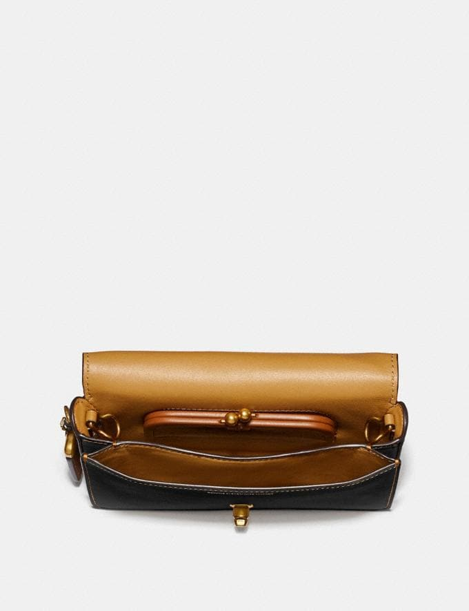 Coach Disney X Coach Dinky Brass/Black Gifts For Her Under $500 Alternate View 2