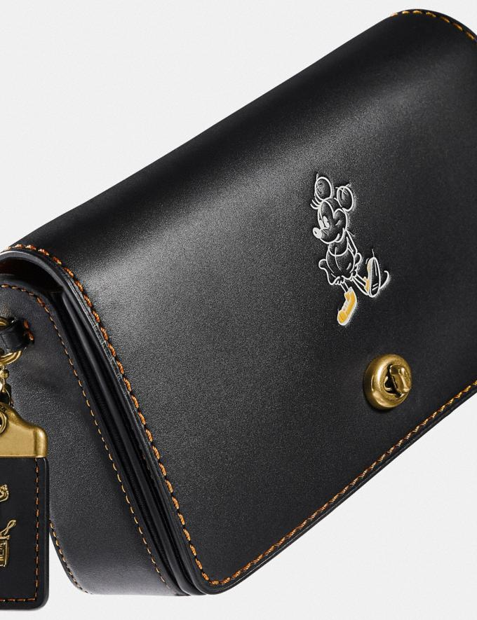 Coach Disney X Coach Dinky Brass/Black Gifts For Her Under $500 Alternate View 3