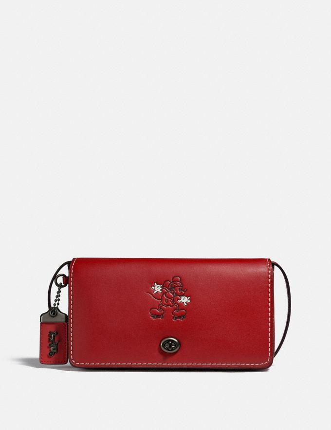 Coach Disney X Coach Dinky Pewter/1941 Red New Featured Disney X Coach