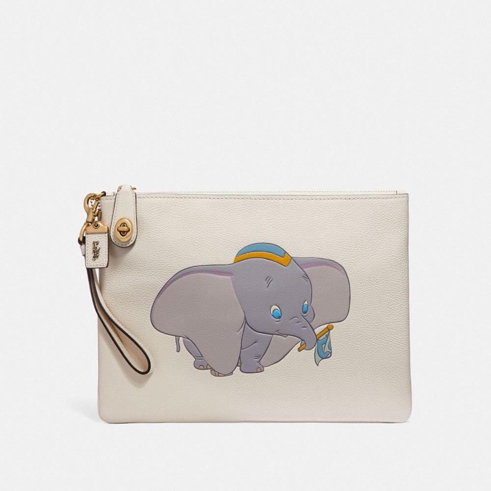 Coach Disney X Coach Turnlock Wristlet 30 With Dumbo