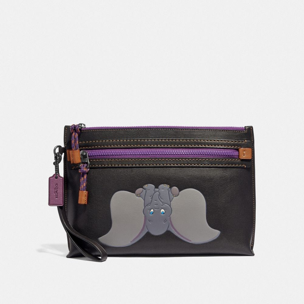 Coach Disney X Coach Academy Pouch With Dumbo