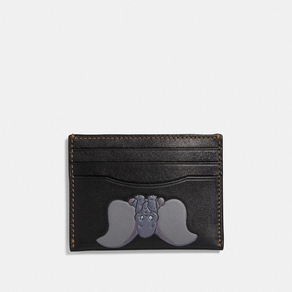 disney x coach card case with dumbo