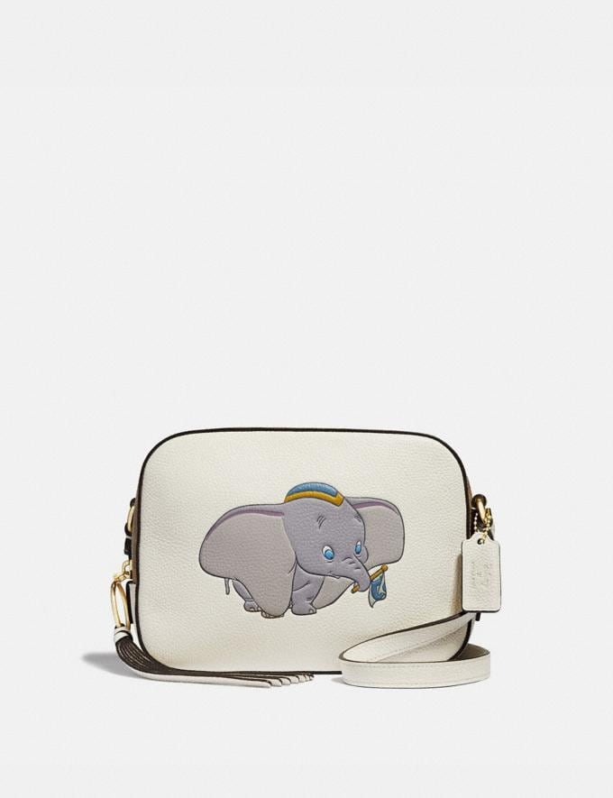 Coach Disney X Coach Camera Bag With Dumbo Chalk/Gold Gifts For Her