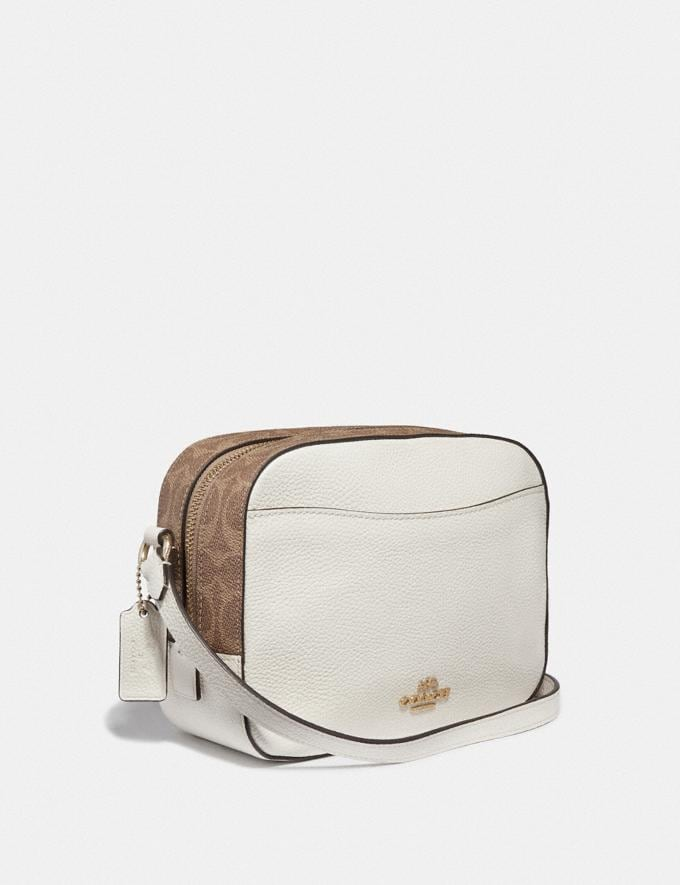 Coach Disney X Coach Camera Bag With Dumbo Chalk/Gold Gifts For Her Alternate View 1