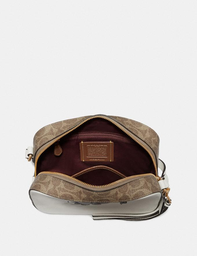 Coach Disney X Coach Camera Bag With Dumbo Chalk/Gold Gifts For Her Alternate View 2
