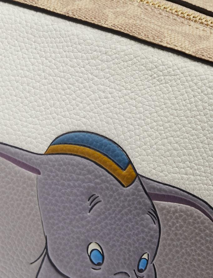 Coach Disney X Coach Camera Bag With Dumbo Chalk/Gold Gifts For Her Alternate View 4