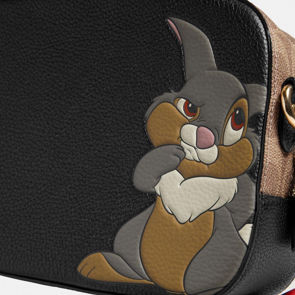 Coach Disney X Coach Camera Bag With Thumper Alternate View 4