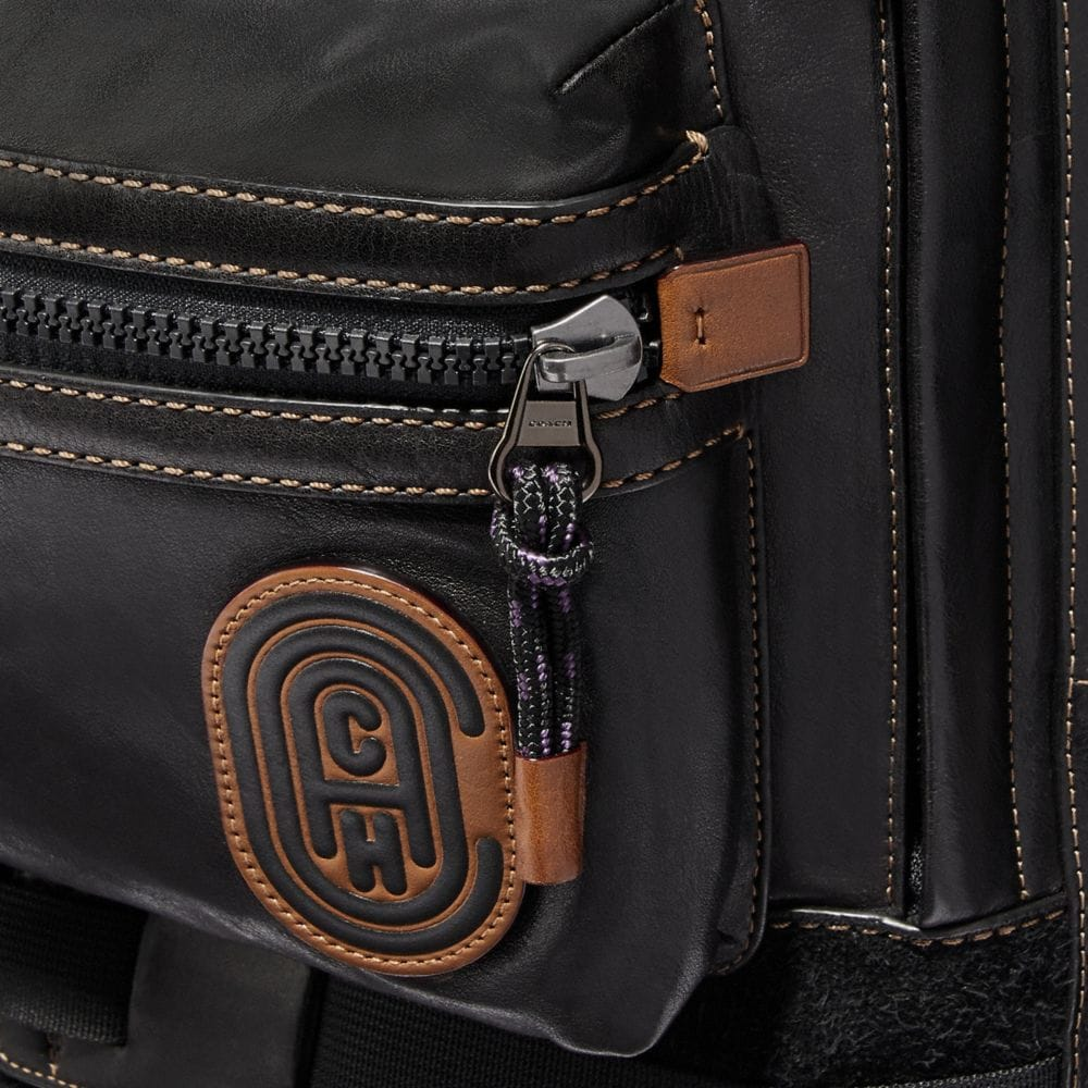 Coach Ridge Backpack With Coach Patch Alternate View 3