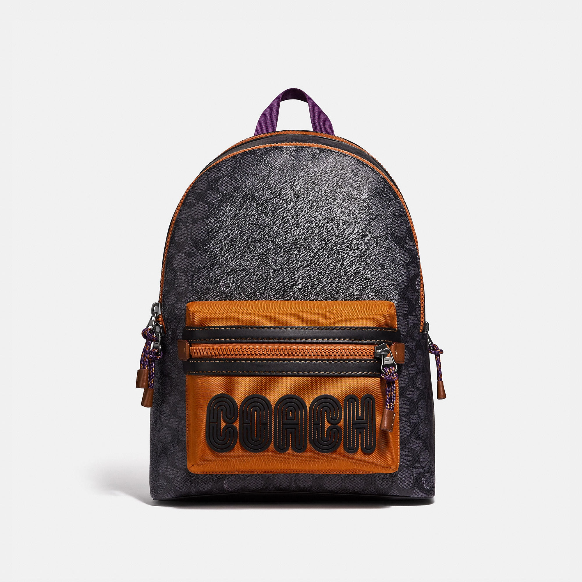 Coach COACH ACADEMY BACKPACK IN SIGNATURE CANVAS WITH PRINT