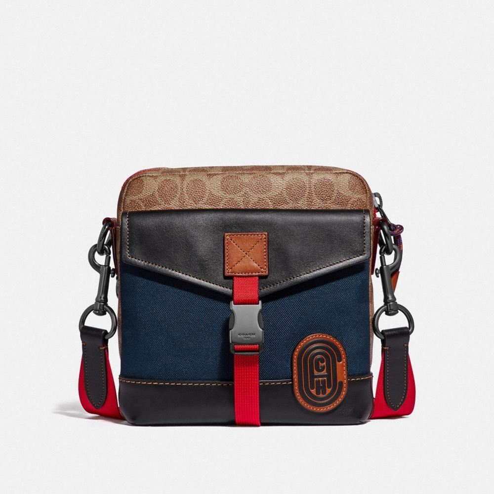 Coach Crossbody in Signature Canvas With Coach Patch
