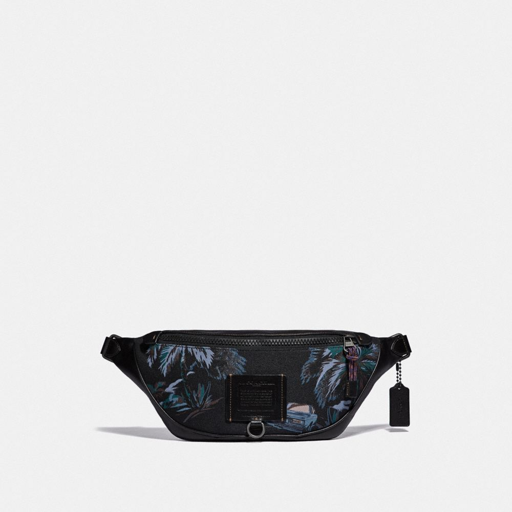 RIVINGTON BELT BAG WITH PALM TREE PRINT