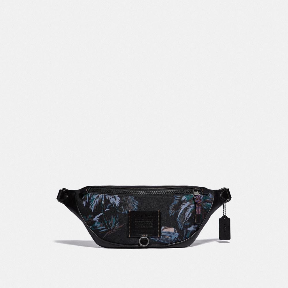 sac ceinture rivington avec imprimé palmier