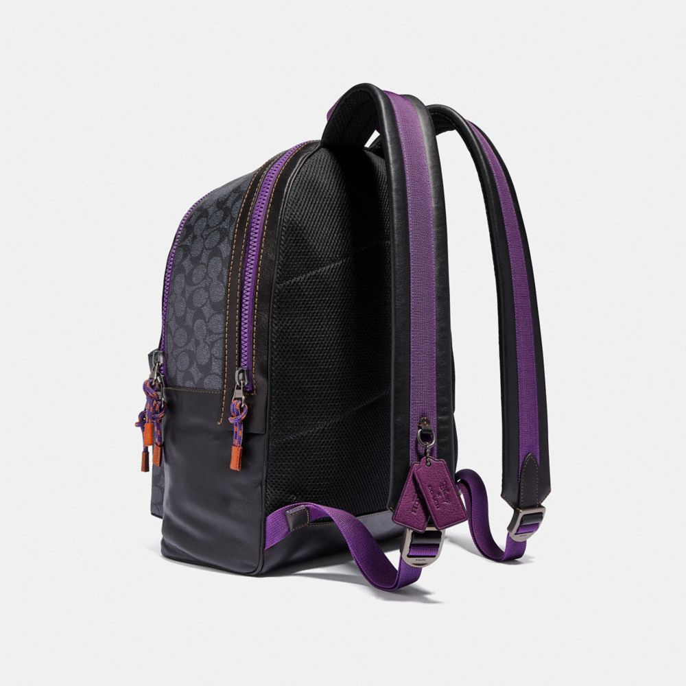 Coach Disney X Coach Signature Academy Backpack With Dumbo Alternate View 1