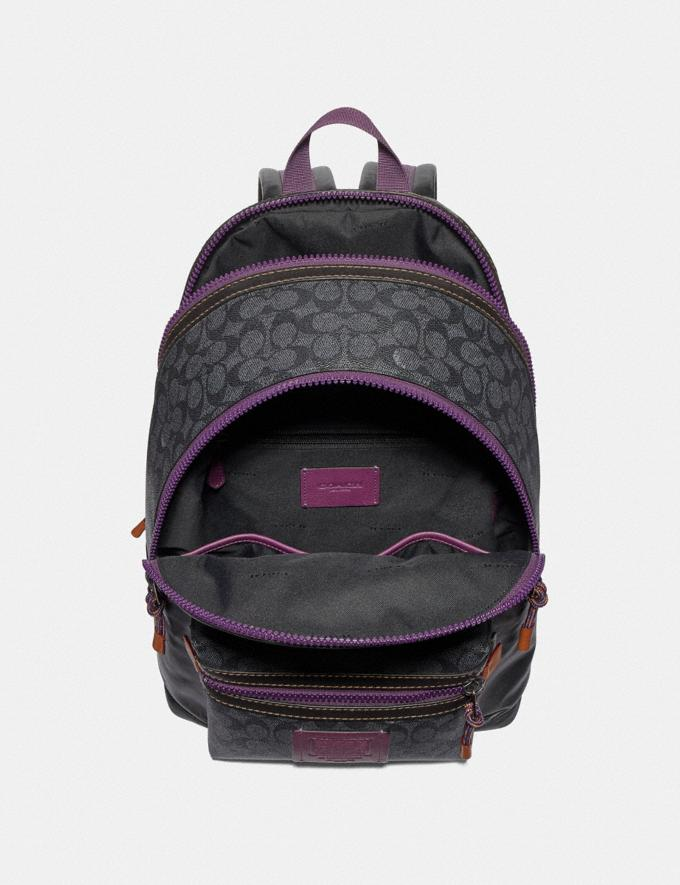 Coach Disney X Coach Signature Academy Backpack With Dumbo Charcoal/Black/Black Copper Men Bags Backpacks Alternate View 2