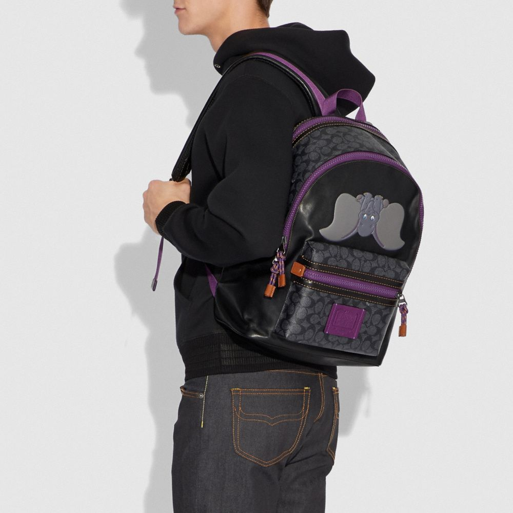 Coach Disney X Coach Signature Academy Backpack With Dumbo Alternate View 3