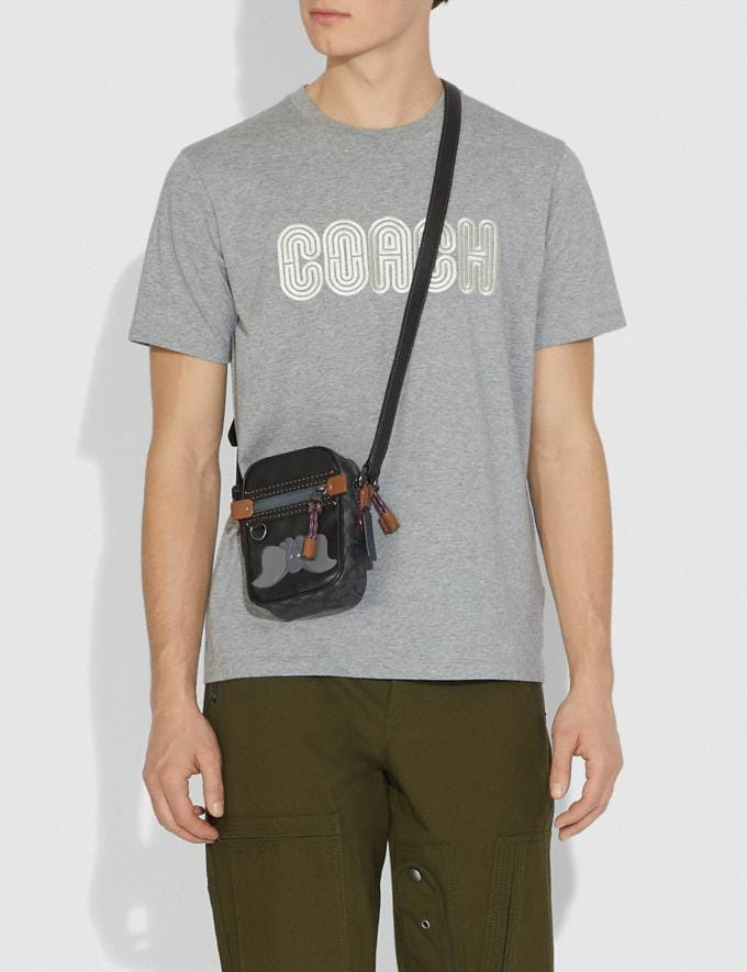 Coach Disney X Coach Signature Dylan 10 With Dumbo Charcoal/Black/Black Copper Gifts For Him Bestsellers Alternate View 3