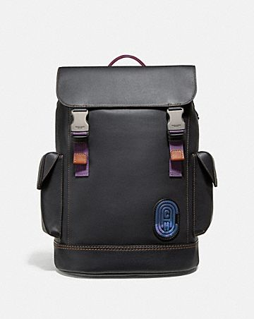 c368f0be119 RIVINGTON BACKPACK WITH COACH PATCH ...