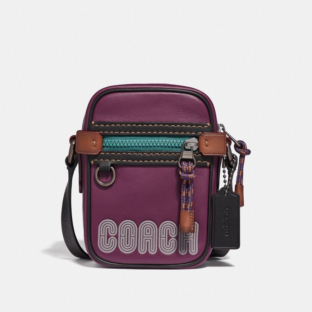 Coach Dylan 10 in Smooth Leather With Coach Print