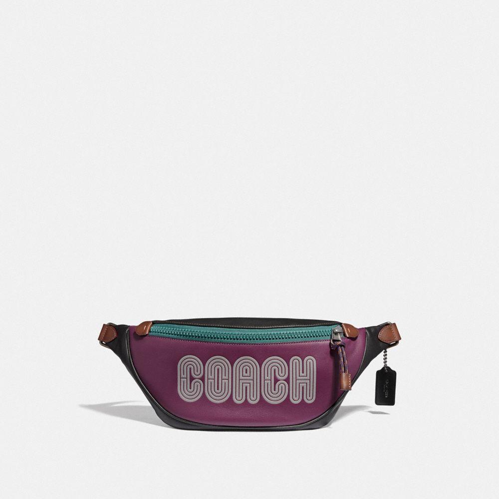 Coach Rivington Belt Bag With Coach Print