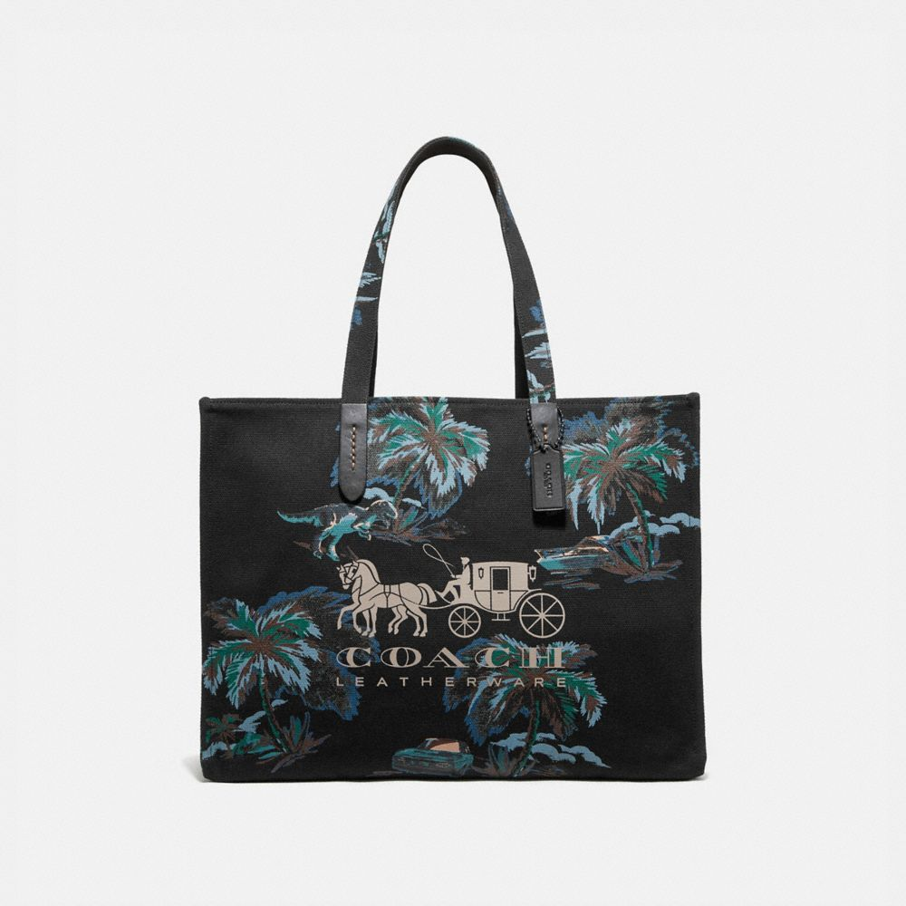 Coach Tote 42 With Horse and Carriage