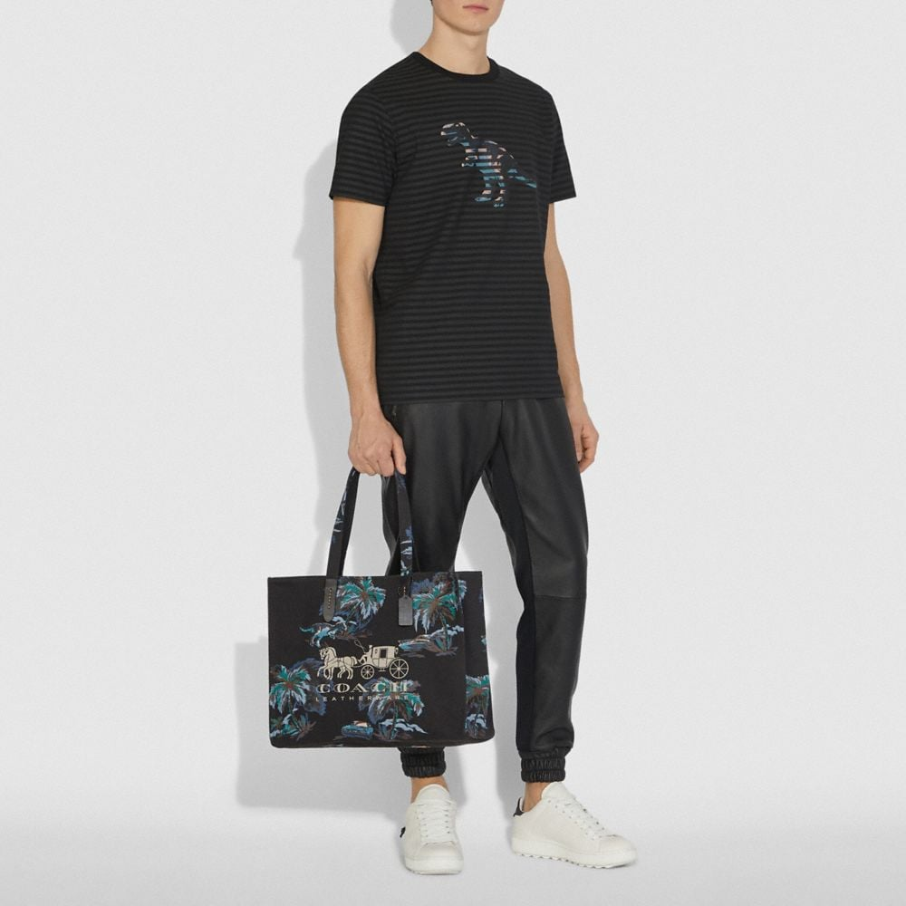 Coach TOTE 42 WITH HORSE AND CARRIAGE Alternate View 3