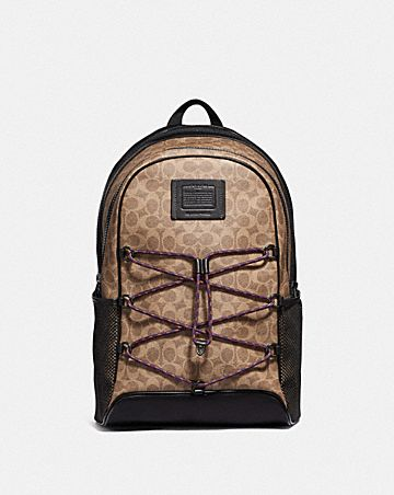 ACADEMY SPORT BACKPACK IN SIGNATURE CANVAS