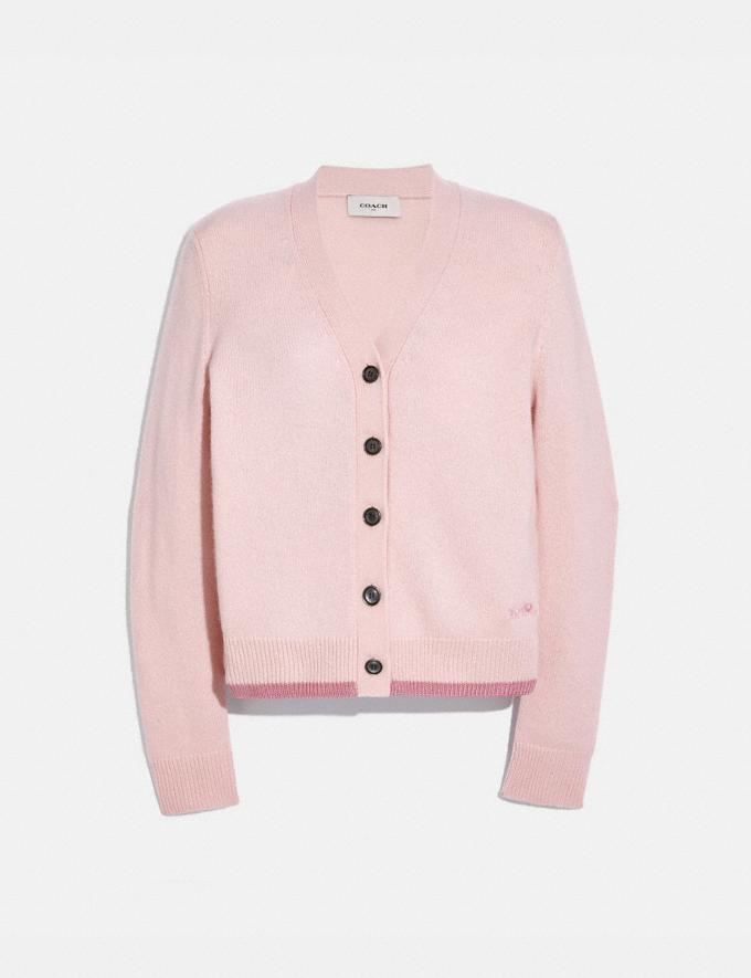 Coach Horse and Carriage Essentials Cardigan Pink