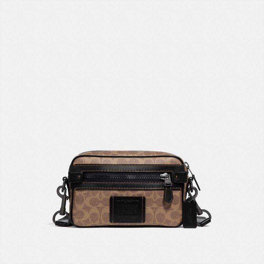academy crossbody in signature canvas