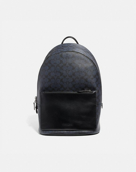 Coach METROPOLITAN SOFT BACKPACK IN SIGNATURE CANVAS