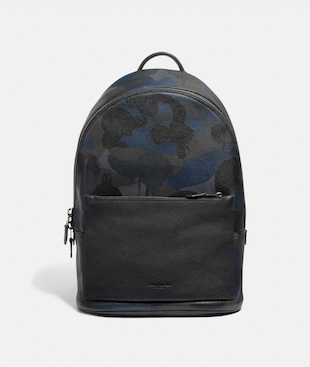 METROPOLITAN SOFT BACKPACK WITH WILD BEAST PRINT