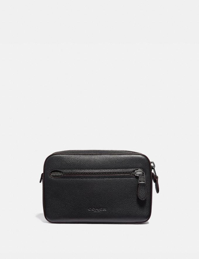 Coach Metropolitan Soft Belt Bag Black/Black Antique Nickel
