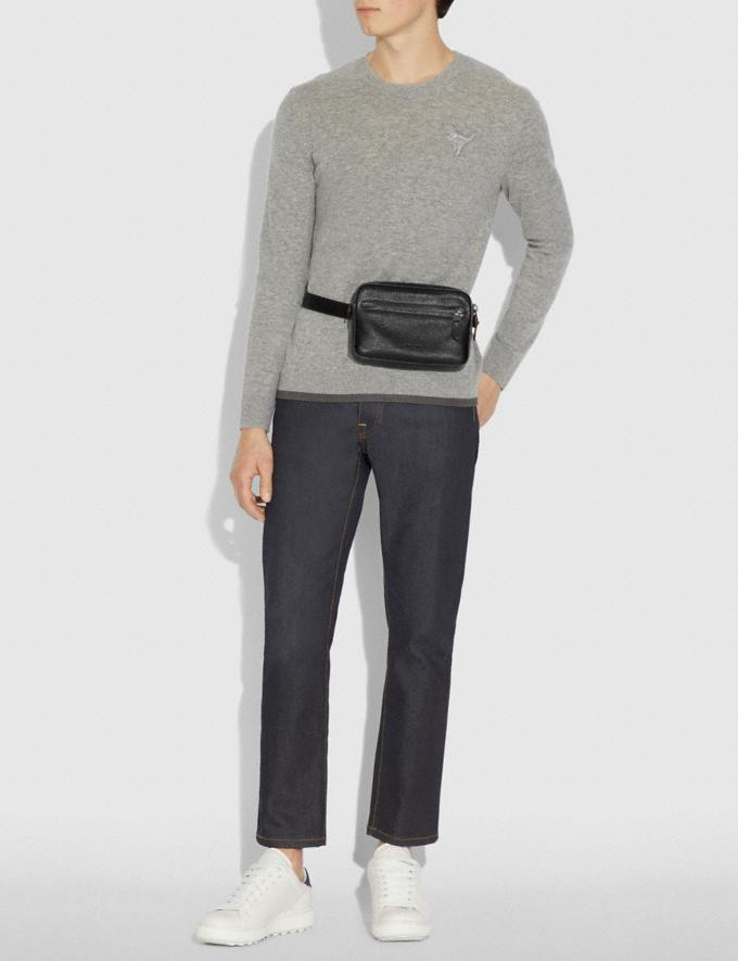 Coach Metropolitan Soft Belt Bag Black/Black Antique Nickel  Alternate View 3