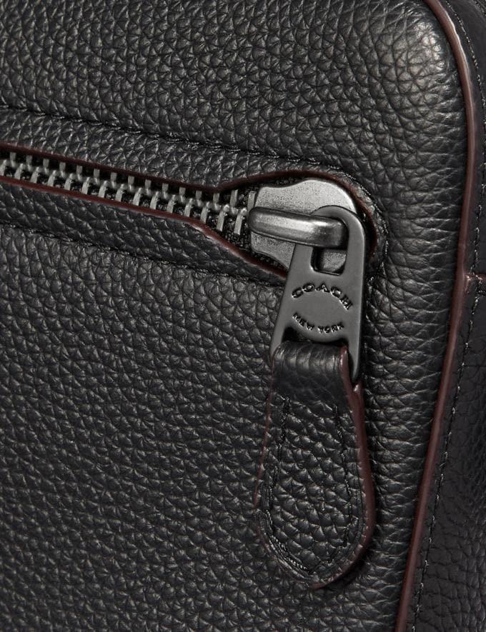 Coach Metropolitan Soft Belt Bag Black/Black Antique Nickel  Alternate View 4