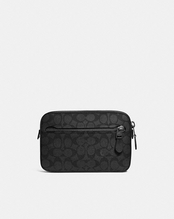 Coach METROPOLITAN SOFT BELT BAG IN SIGNATURE CANVAS