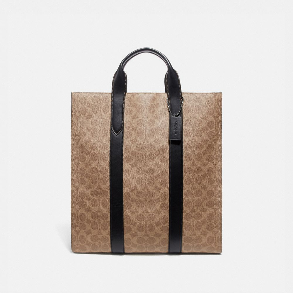 sac metropolitan vertical souple en toile exclusive