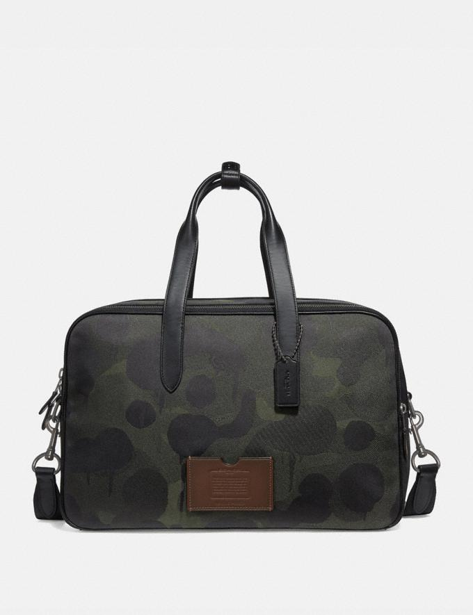 Coach Academy Travel Duffle With Wild Beast Print Military Wild Beast/Black Copper 30% off Select Full-Price Styles